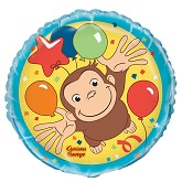 """18"""" Curious George Balloon (Sold Packaged)"""