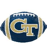 Georgia Tech Junior Shape Foil Balloon