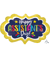 """27"""" Assistant's Day Marquee Foil Balloon"""