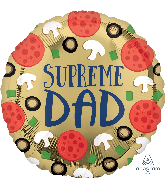 "18"" Supreme Dad Foil Balloon"