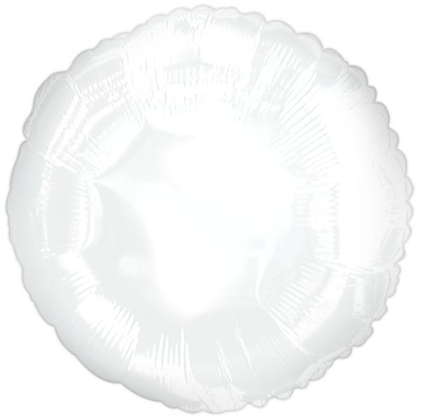 "18"" CTI Brand White Circle"