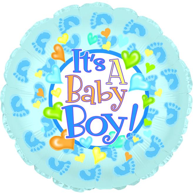 """18"""" It's a Baby Boy Feet"""