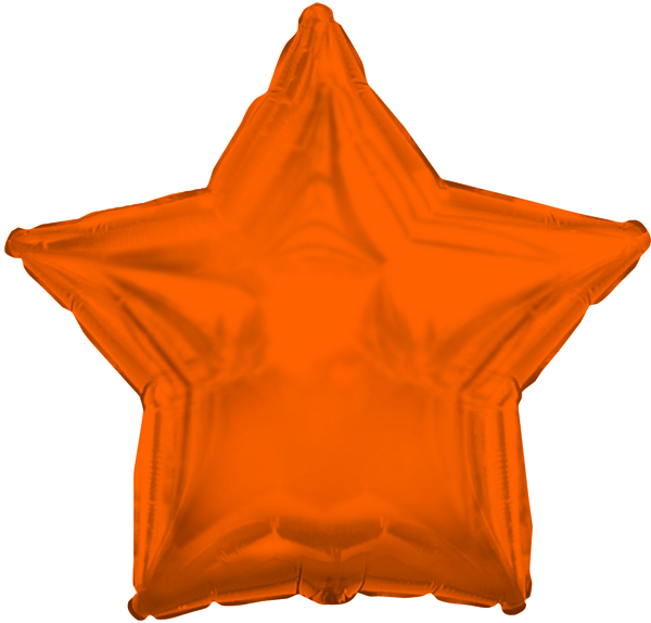 "18"" CTI Brand Orange Star"