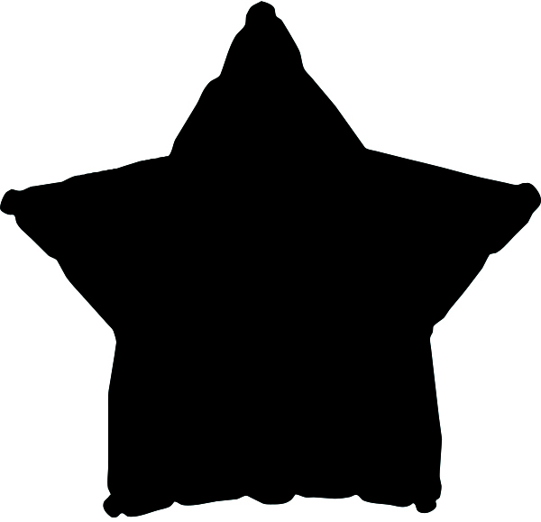 "18"" CTI Brand Black Star"