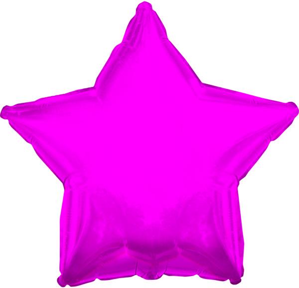 "4.5"" Airfill CTI Hot Pink Star M158"