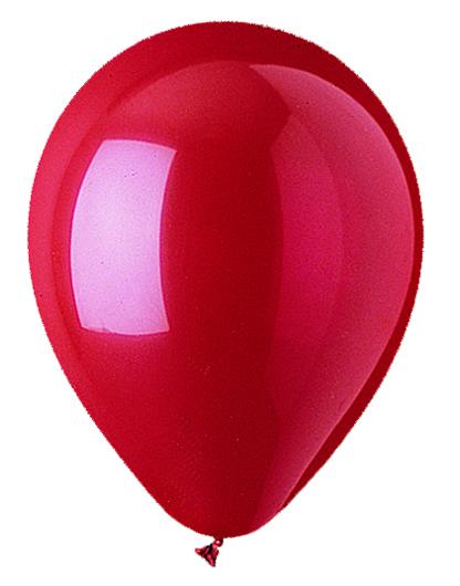 """9"""" Standard Red Latex (100 Per Bag)"""