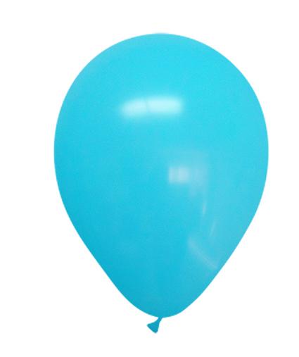 """12"""" Standard Ocean Blue Latex (100 Per Bag)"""