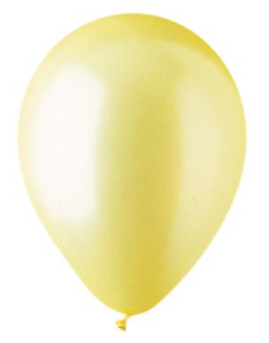 """12"""" Pearl Yellow Latex (100 Per Bag)"""