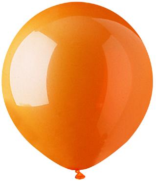"17"" Standard Orange Latex 72 Count"