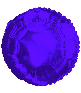 "17"" CTI Deep Purple Metallic Circle Balloon"