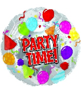 "17"" Party Time Balloon"