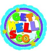 "18"" Get Well Type Balloon"