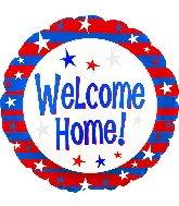 """18"""" Welcome Home Red, White, and Blue"""