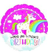 "18"" Magical Birthday Foil Balloon"