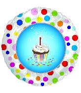 """9"""" Airfill Happy Birthday Treat Balloon"""
