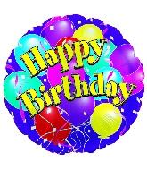 "9"" Airfill Big Birthday Balloons M11"