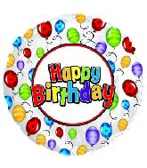 """4.5"""" Airfill Happy Birthday Day Balloon Release Balloon"""