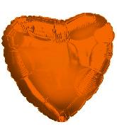 "18"" CTI Brand Orange Heart"