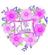 """18"""" Mis Quince Floral"""