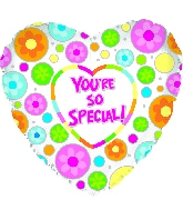 You're Special/The Best/#1 Mylar Balloons