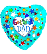 """18"""" Get Well Dad"""