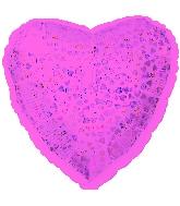 """18"""" Pink Heart Pattern Dazzleloon"""