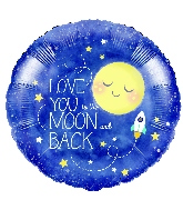 """18"""" I Love You to The Moon and Back"""