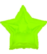 "18"" CTI Brand Lime Green Star"