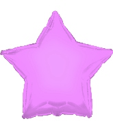 "17"" Opalescent Pink Star Balloon"