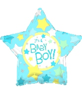 "18"" It's a Boy Star"