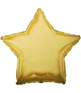 "9"" Airfill CTI Antique Gold Star M134"