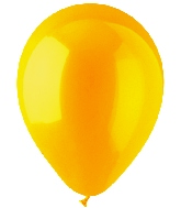 "12"" Standard Goldenrod Latex (100 Per Bag)"
