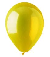 """12"""" Crystal Yellow Latex (100 Per Bag)"""