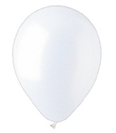"""12"""" Pearl White Latex (100 Per Bag)"""