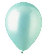 """5"""" Pearl Seafoam Green Latex 100 Per Bag"""