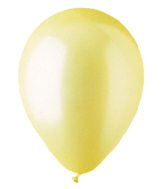 "12"" Pearl Yellow Latex (100 Per Bag)"
