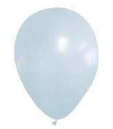 "12"" CTI Brand Matte Pool Blue Latex Balloons (100 Per bag)"