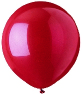 """17""""  Standard Red Latex 72 Count"""