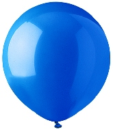 """17"""" Standard Blue Latex 72 Count"""