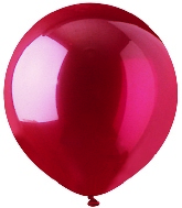 """17"""" Crystal Red Latex 72 Count"""
