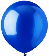 """17"""" Crystal Blue Latex 72 Count"""