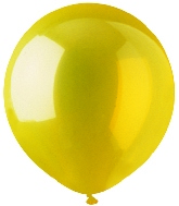 "17"" Crystal Yellow Latex 72 Count"