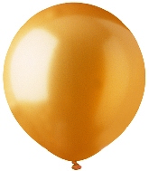 "17"" Metallic Gold Latex 72 Count"