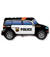 "33"" Police Car Foil Balloon"