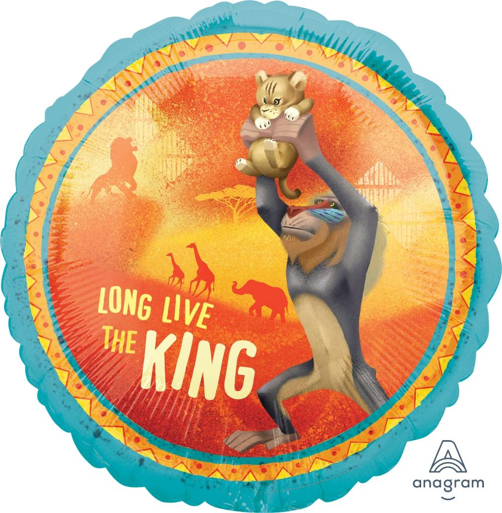 """18"""" Lion King Foil Balloon"""