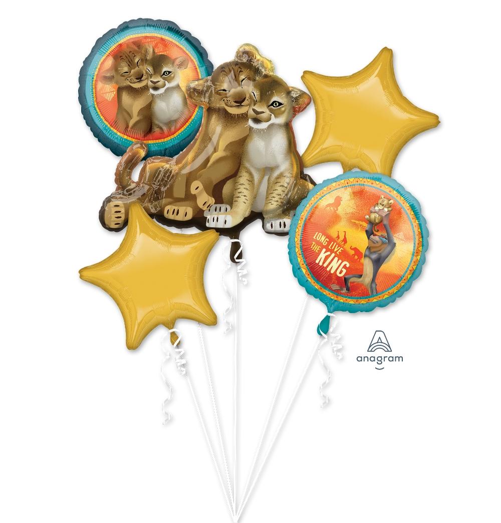 Bouquet Lion King Foil Balloon