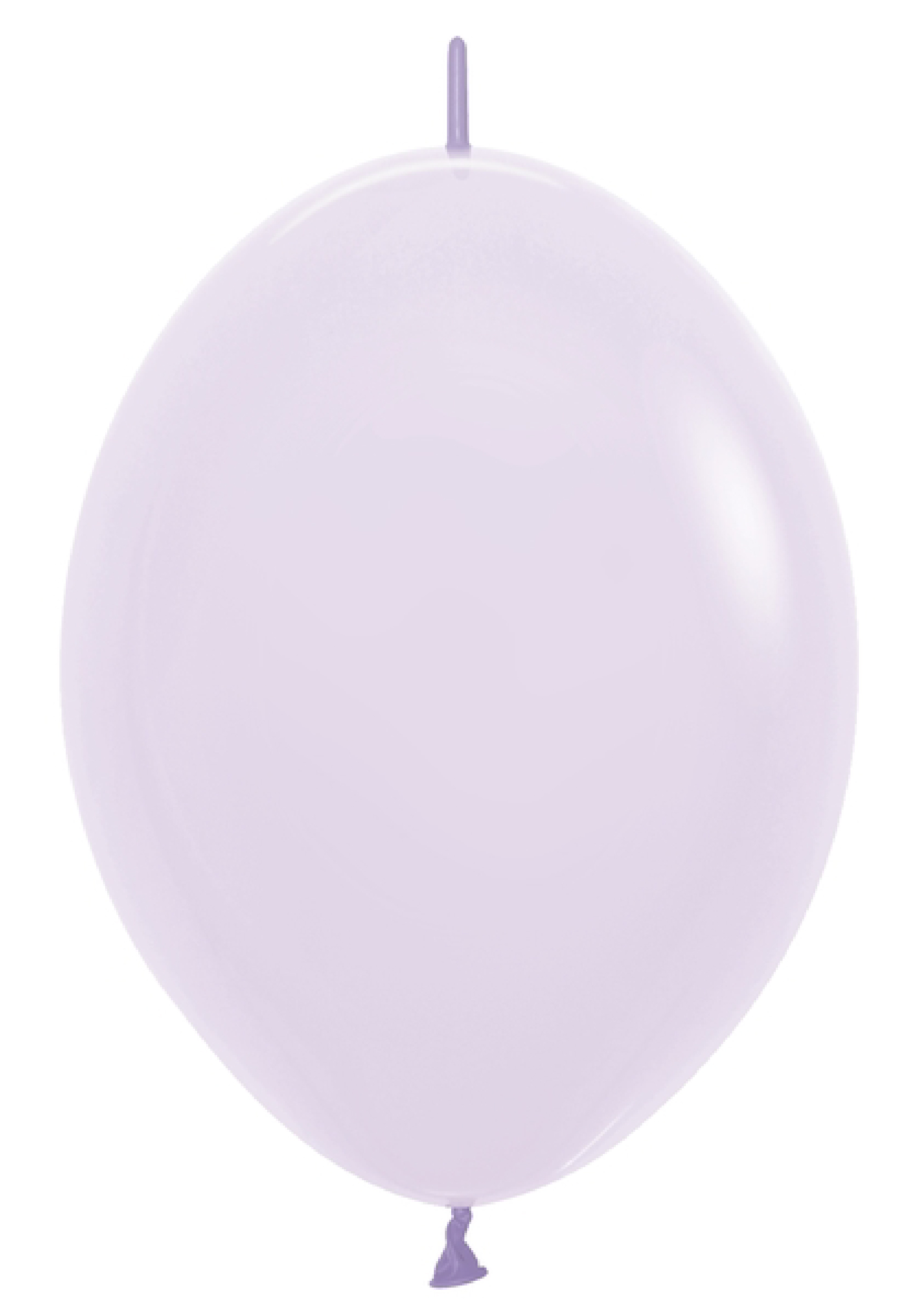 """12"""" Link-O-Loon Latex Balloons Pastel Matte Lilac"""
