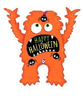 """40"""" Foil Shape Halloween Monster Foil Balloon"""
