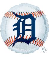 "18"" Detroit Tigers Foil Balloon"