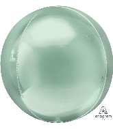 "16"" Orbz Mint Green Foil Balloon"